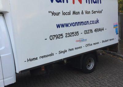 Our Luton Van